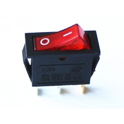 Electric rocker switch red...
